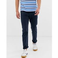 casual 5 pocket straight fit twill trouser in navy - navy, Esprit