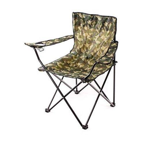 Krzesło wędkarskie, 85 x 54 x 80 cm, kolor moro