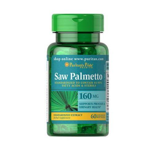 Palma sabałowa Saw Palmetto 160mg 60 kaps. Puritan's Pride - produkt z kategorii- Zdrowa żywność