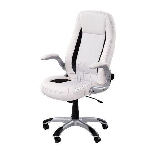 Fotel gabinetowy Saturn biały