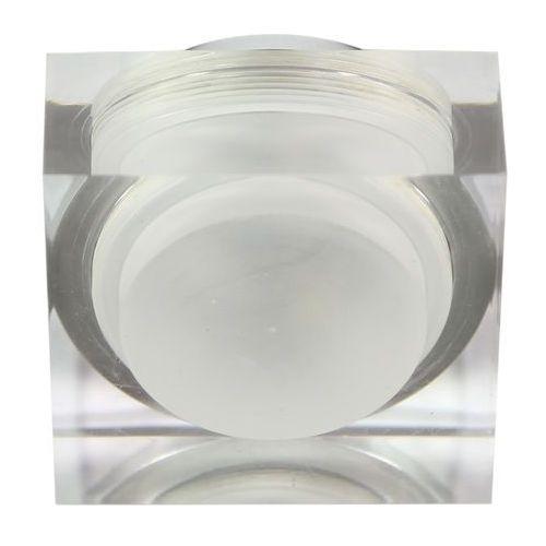 Oprawa halogenowa CANDELLUX SAK-02 AL/TR LED (3 W) LED Szkło Akrylowe Transparentne (5906714827467)