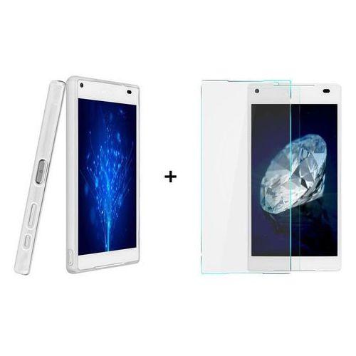 Ultra slim / perfect glass Zestaw szkło ochronne perfect glass + obudowa ultra slim przezroczysta sony xperia z5 compact