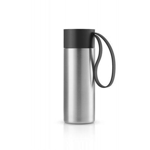 Stalowy kubek termiczny to go cup, czarny - marki Eva solo