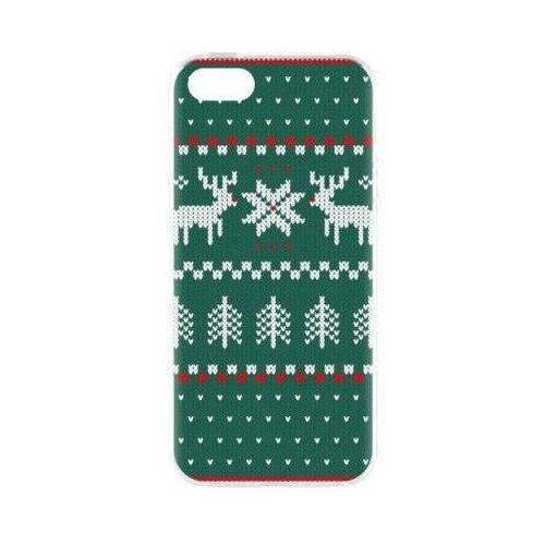 Etui case ugly xmas sweater do apple iphone 5/5s/se zielony (27416) marki Flavr