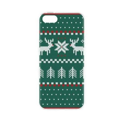 Etui FLAVR Case Ugly Xmas Sweater do Apple iPhone 5/5s/SE Zielony (27416)
