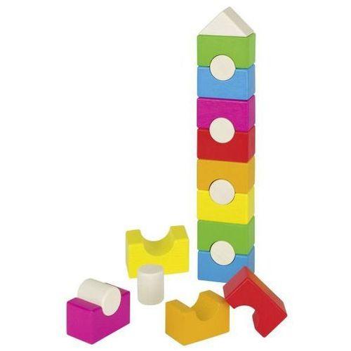 Goki Piramida - domek, kolorowa wieża