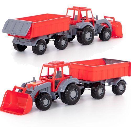 Polesie Altaj traktor z przyczepą i łyżką (4810344035349)