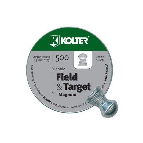 Śrut 4,5mm Diabolo Field Target półokrągły 500szt Kolter