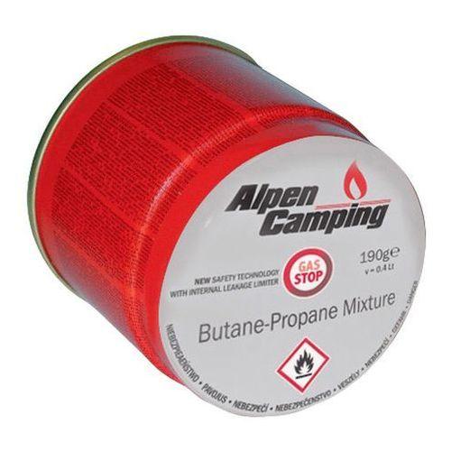 Nabój z gazem Alpen Camping 190 g, 106