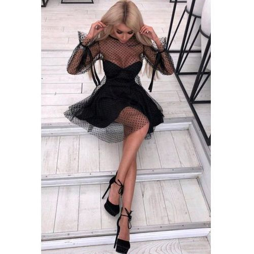Sukienka PRESILA, kolor czarny