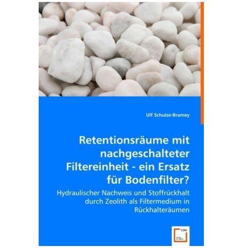 Retentionsräume mit nachgeschalteter Filtereinheit - ein Ersatz für Bodenfilter?