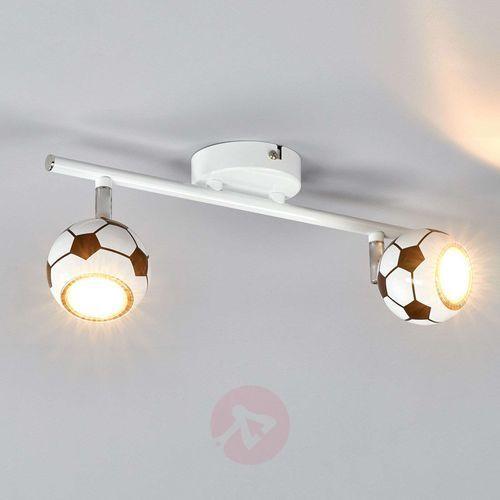 Spotlight Listwa lampa oprawa sufitowa spot light play 2x4.5w gu10 led biało/czarna 2500204 (5901602323908)