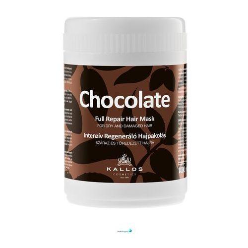 Kallos Chocolate maseczka regenerująca do włosów suchych i zniszczonych (Full Repair Mask for Dry and Damaged Hair) 1000 ml (5998889510992)
