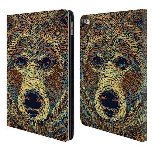 Etui portfel na tablet - SCRIBBLE ANIMAL FACES Bear, kolor Etui