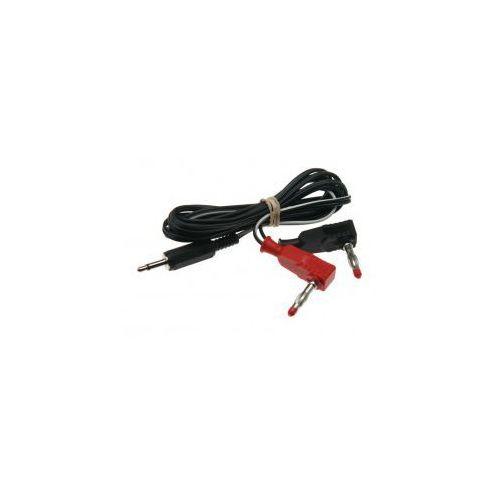 Kabel low profile 1,5m (3.5mm jack/4mm) marki E-stim (uk)