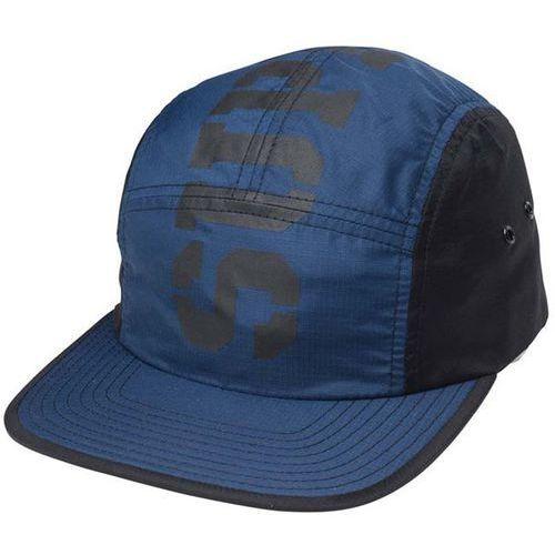czapka z daszkiem SUPRA - Major 5 Panel Black-Blue (025) rozmiar: OS, kolor niebieski
