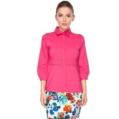 Koszula w kolorze amarantowym -  marki Duet woman