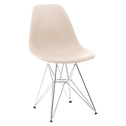 Krzesło p016 pp inspirowane dsr - beżowy marki D2.design