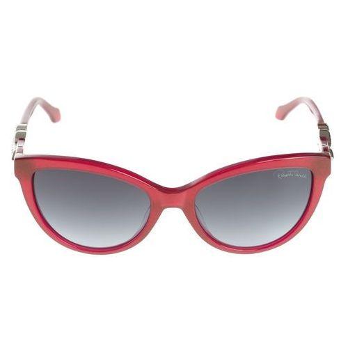 Roberto Cavalli Kuma Okulary przeciwsłoneczne Czerwony UNI, kolor żółty
