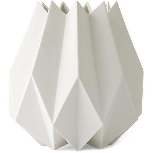 Wazon folded, wysoki, biały - marki Menu