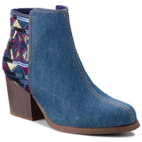 Botki - shoes country exotic denim 18wsad01 5053 marki Desigual