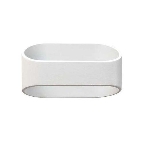Ideus Kinkiet lampa ścienna beti led 10w 03101 metalowa oprawa biała