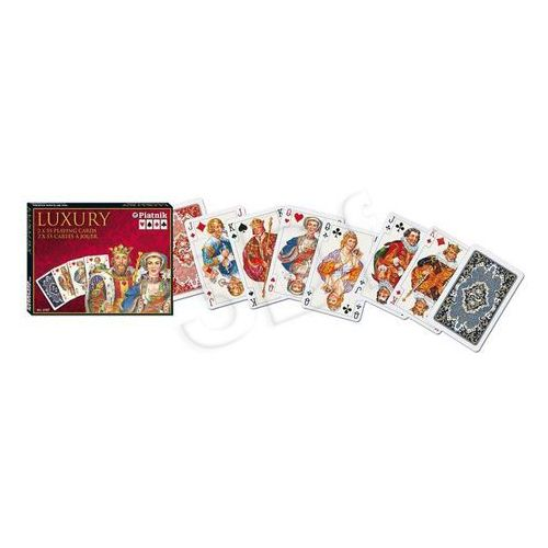 Piatnik Karty do gry 2 talie lux luxury (9001890216749)