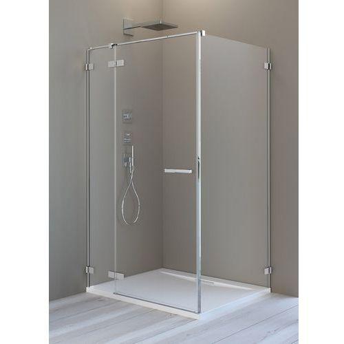 Radaway arta kdj ii kabina 100x100cm lewa szkło przejrzyste + brodzik doros c + syfon (5902738041537)
