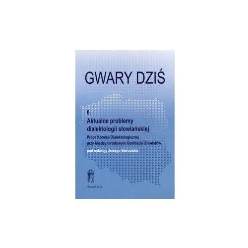 Gwary dzis 6 Aktualne problemy dialektologii slowianskiej (9788376541822)