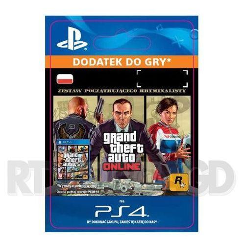 Grand Theft Auto V Zestaw Początkującego Kryminalisty [kod aktywacyjny] (0000006200954)