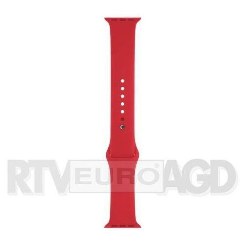 OKAZJA - Apple Pasek Sportowy Apple Watch 42mm (czerwony) - produkt w magazynie - szybka wysyłka!, MLDJ2ZM/A
