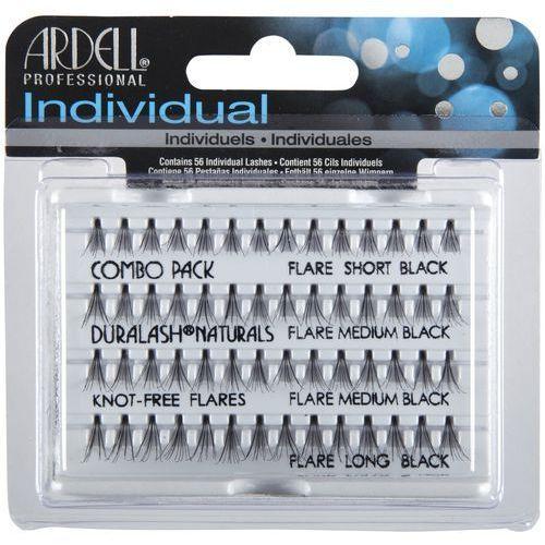 Ardell professional. individual kępki rzęs combo pack black. 56 szt/op (65063)