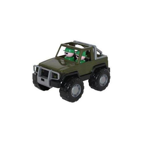 Samochód jeep safari wojskowy - marki Polesie poland