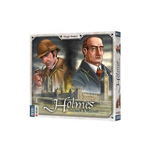 Holmes: sherlock & mycroft. gra planszowa marki Rebel