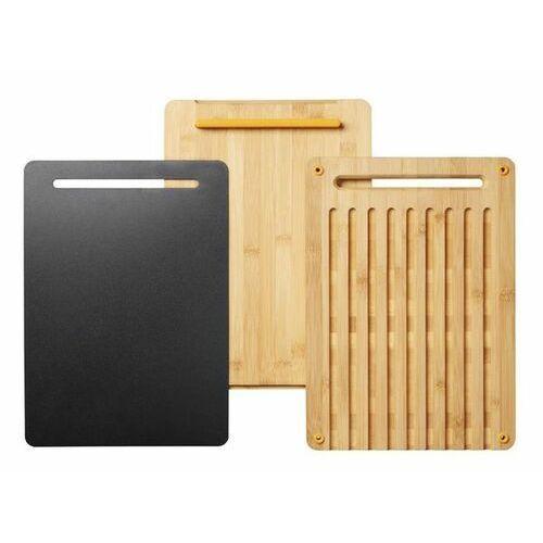 FISKARS Bambusowy zestaw desek do krojenia Functional Form (1057550)