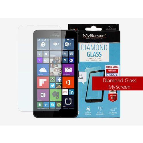 Microsoft Lumia 640 - szkło hartowane MyScreen Protector Diamond Glass
