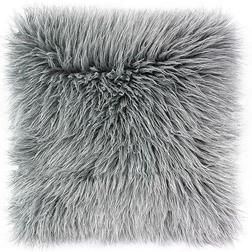 Poszewka na poduszkę Fluffy szara (5902409734041)