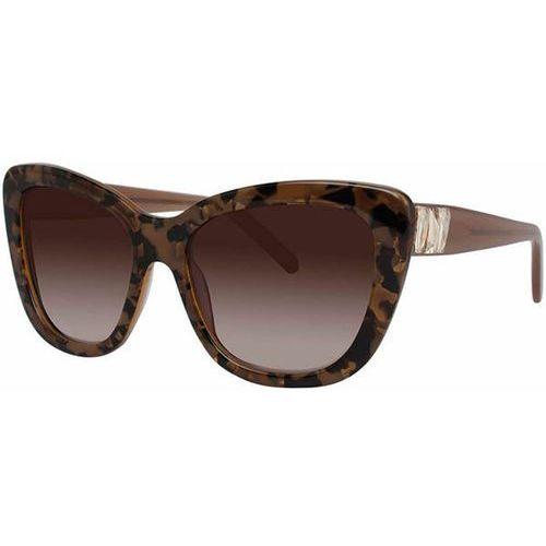 Vera wang Okulary słoneczne belloza tortoise