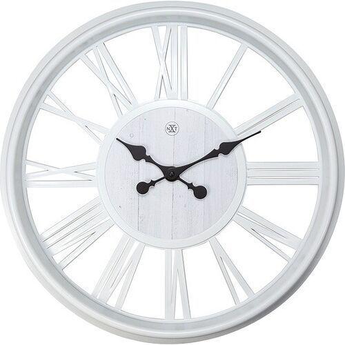 Nextime Zegar ścienny quebec biały (8717713026495)