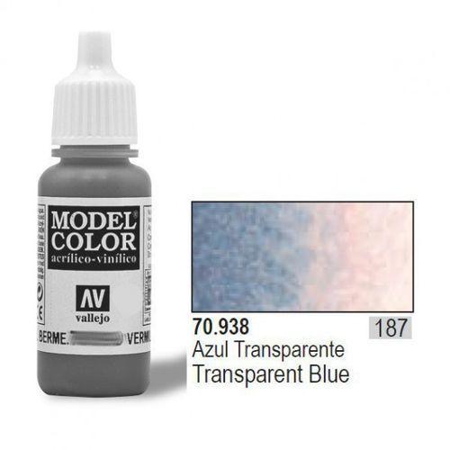 Vallejo Farba Nr187 Transp. Blue 17ml (8429551709385)