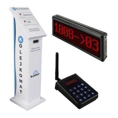 Kaler kaler system kolejkowy z biletami 8042 - autoryzowany partner kaler, automatyczne rabaty.