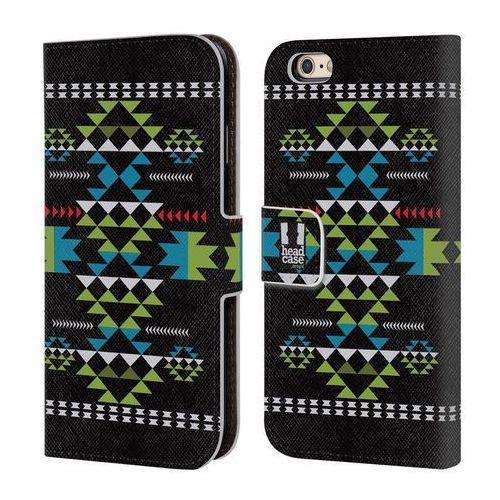 Etui portfel na telefon - NEO NAVAJO BLACK, kolor czarny