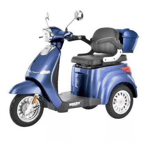HECHT CITIS MAX BLUE WÓZEK SKUTER ELEKTRYCZNY INWALIDZKI DLA SENIORA AKUMULATOROWY E-SKUTER MOTOR - OFICJALNY DYSTRYBUTOR -AUTORYZOWANY DEALER HECHT (8595614925693)