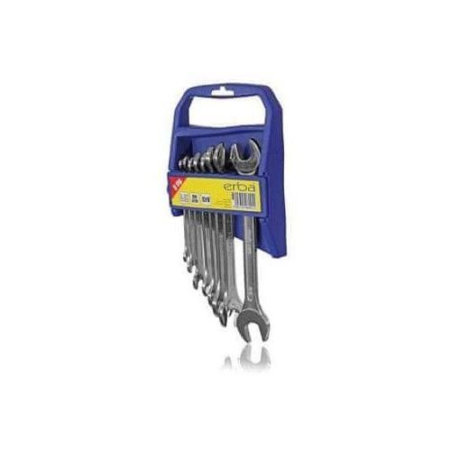 Erba zestaw kluczy otwartych 8 szt, 6-22 mm (9003324060911)