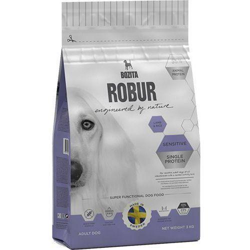 Robur sensitive single protein lamb & rice 12,5 kg marki Bozita