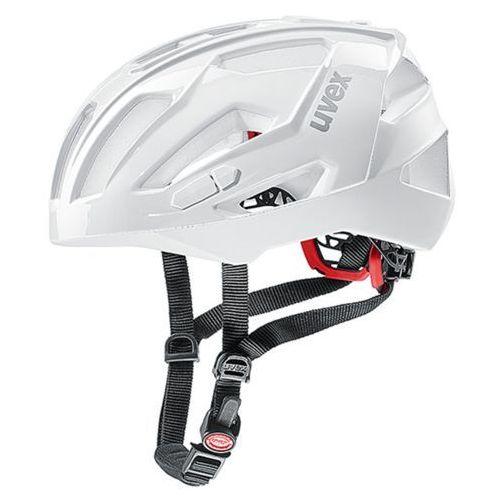 Kask UVEX Quatro XC biały / Rozmiar: L (4043197296081)