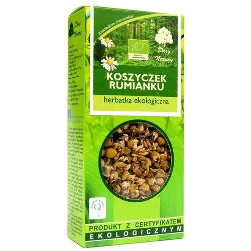 Herbatka z koszyczków rumianku bio 25 g - dary natury marki Dary natury - herbatki bio