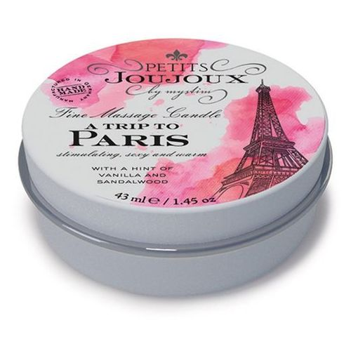 Mystim (ge) Petits joujoux fine massage candles - a trip to paris (33 g) (4260152467601)