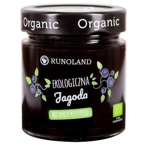 Dżem z jagody leśnej bez cukru BIO 200g - Runoland (5901641002901)
