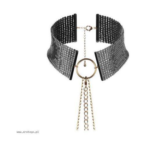 Bijoux Indiscrets - Désir Métallique Collar (czarna), 0806802